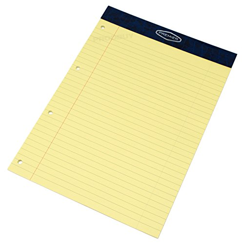 pack-of-5-memory-aid-a4-yellow-100-page-paper-notepad-refill-legal-lined-writing-pads