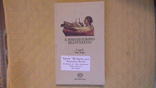 Il romanzo europeo dell'Ottocento