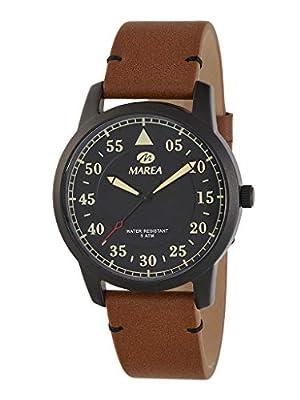 Reloj Caballero Marea Trendy. Cuero marrón B54151/3