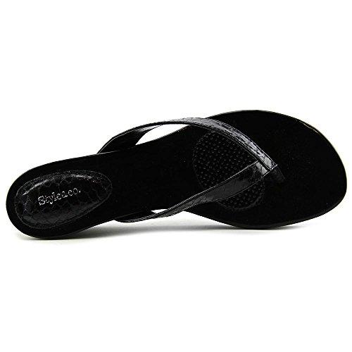 Style & Co Haloe Synthétique Sandales Compensés Black