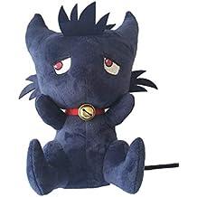 Naughty baby Caricatura 35Cm Gato Negro Gris Suave Felpa Peluche Animal Bebé Regalo De Cumpleaños Buena