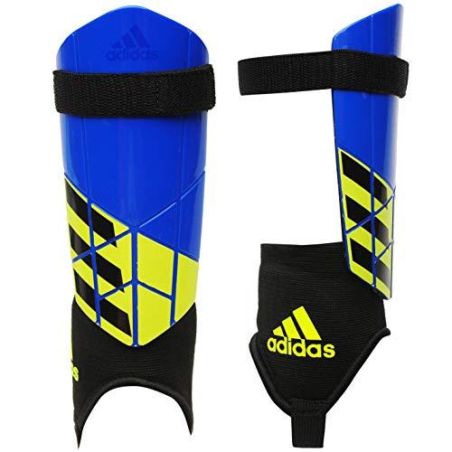 adidas Kinder X Youth Schienbeinschoner, Football Blue/Black/Solar Yellow, M