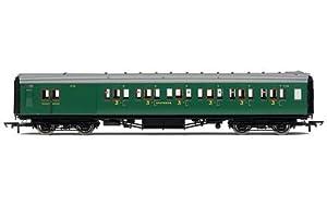 Hornby R4737SR Maunsell 6Compartimento Freno de Tercera Clase Entrenador Tren Modelo Set