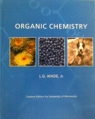 ORGANIC CHEMISTRY >CUSTOM<