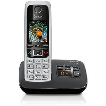 Anrufbeantworter Festnetztelefone & Zubehör Gigaset A 415 A Duo Schnurloses Telefon Freisprechfunktion Schwarz Silber