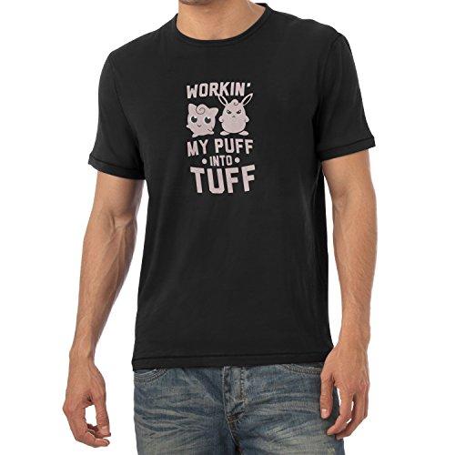 TEXLAB - Workin' Out - Herren T-Shirt Schwarz