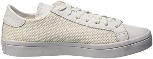 adidas Courtvantage W, Chaussures de Basketball Femme Multicolore (Ftwwht/Ftwwht/Cblack)