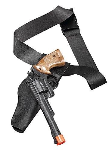 Imagen 1 de Cowboy Holster/Gun Set. Adult (accesorio de disfraz)