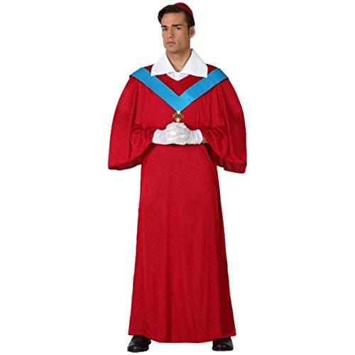 Kardinalskostüm Größe M/L + Handschuhe Kostüm Kardinal - M&m Kostüm Handschuhe