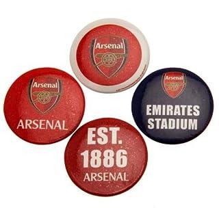 F.C. Arsenal Button Badge Set Offizielles Merchandise Produkt