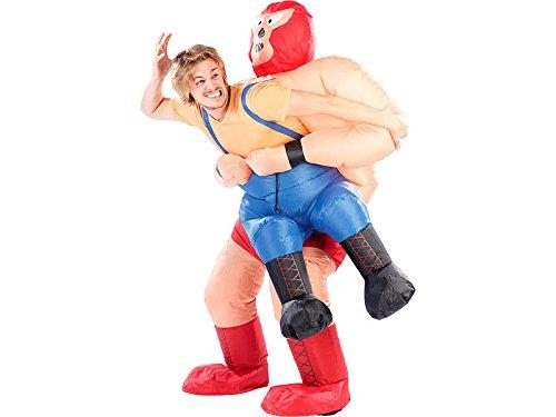 NEU WRESTLING-KOSTÜM WRESTLER VERKLEIDUNG HALLOWEEN KARNEVAL FASCHING ANZUG WWE FASTNACHT (Kostüme Wrestler)