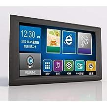 Ocamo Accesorios para vehiculos Navegador GPS portátil de 9 Pulgadas + grabadora S9 con DVR