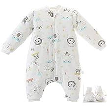 Invierno Cálido Saco de dormir para bebés 3.5 Tog Saco de dormir de algodón orgánico Varios