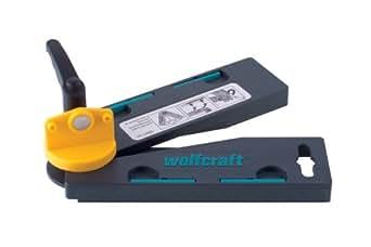 Wolfcraft 6921000 - Guida angolare con bisecanti automatici