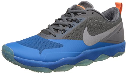 Nike Men's Air Zoom Flyware Turquoise Blue Running Shoes - 10 UK/India (45 EU)(11 US)(819803-700)  available at amazon for Rs.4498