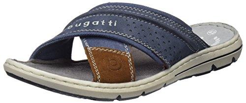 Bugatti Herren 321473806900 Pantoletten, Blau (Blue), 44 EU