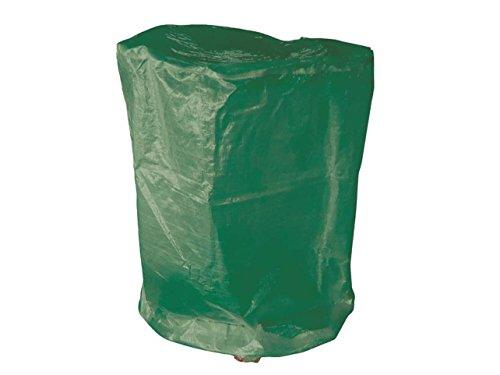 Hillfield Grillabdeckung rund oder eckig Abdeckhaube runde oder eckige Grills/Bistrotische (Grün, 70 x 90 cm RUND)
