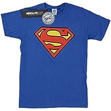 DC Comics niños Superman Logo Camiseta
