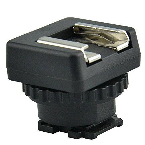 Maxsimafoto - MSA-MIS Cold Shoe Mount Adapter Converter für Sony Multi Interface Shoe Msa-video