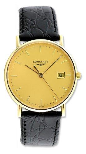 longines-presence-18kt-gold-mens-strap-watch-date-l47436322