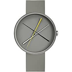 """Projects Uhr (Denis Guidone) - """"Crossover Gray"""" Grau Silikon Unisex"""