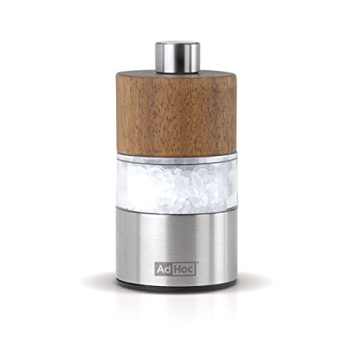 Pfeffer- Oder Salzmühle David, Ceramic Mahlwerk Ceracut®, Edelstahl/Akazienholz/Acryl, D: 3,2 Cm, H: 6,2 Cm