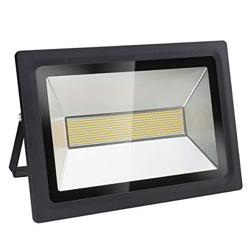 Projecteurs LED et éclairage de sécurité extérieur, 200W, 17200LM, blanc chaud (3000K), économiseur d'énergie
