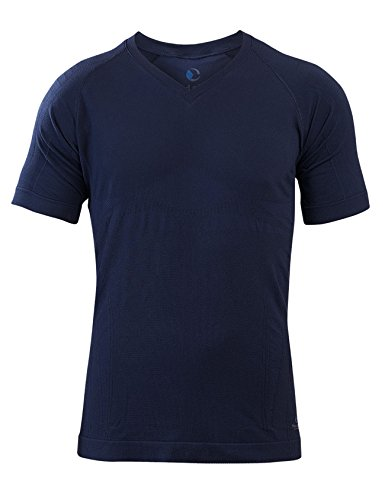 SleepShirt AVIOR / Herren Schlaf-Shirt / KURZARM Oberteil / Seamless