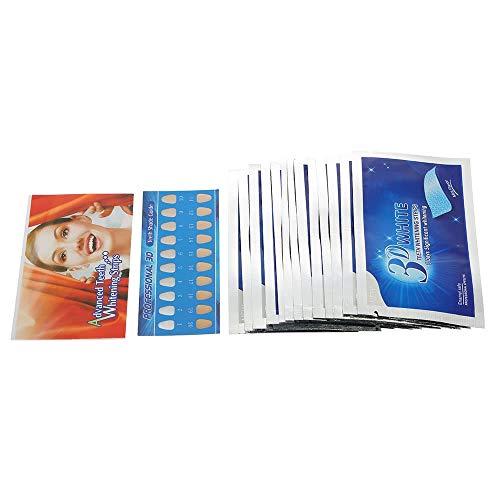 Herramienta Oral Dientes 3D para Blanquear Tiras Dientes para Blanquear Dental Doble Elástico Tiras De Gel Herramientas Dentales Tiras para Dientes para Blanquear El Producto 28 Unids