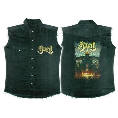 GHOST MELIORA Worker Shirt Schwarz / Black