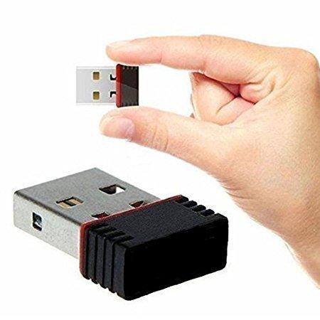 Wi-Fi Receiver 300Mbps, 2.4GHz, 802.11b/g/n USB 2.0 Wireless Mini Wi-Fi...