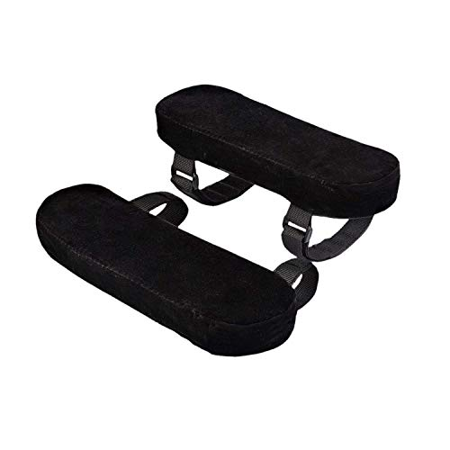 Stuhl Armlehne-pads (TOOGOO Stuhl Armlehne Pads Sind Maus Handgelenk Pad Und GED?chtnisschaum Armlehne Kissen Mit Anti-Rutsch Gewebe, Kissen Abdeckungen Für Armlehne Und Ellenbogen Entspannung (2 Pad Set))
