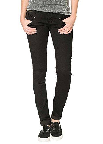 Freeman T. Porter Alexa Slim Super Stretch Magic Denim black Größe S
