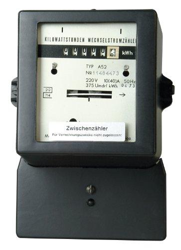 Kopp 192200011 - Contatore intermedio per corrente alternata, 250 V, rigenerato, non omologato, 10/30 A