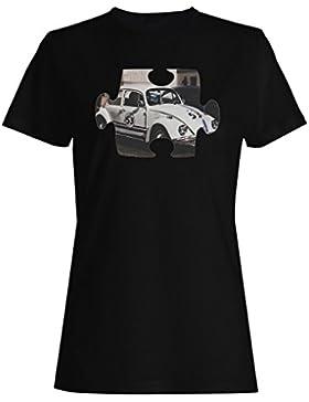 Rompecabezas vintage viejo coche hermoso vw camiseta de las mujeres e553f