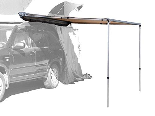 Preisvergleich Produktbild Prime Tech Fahrzeug-Markise 200x200x210cm beige auch für Dachzelte