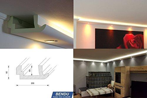 BENDU U2013 Moderne LED Stuckleisten Bzw. Lichtvoutenprofile Für Indirekte  Wandbeleuchtung Plus Deckenbeleuchtung. Ideal Für