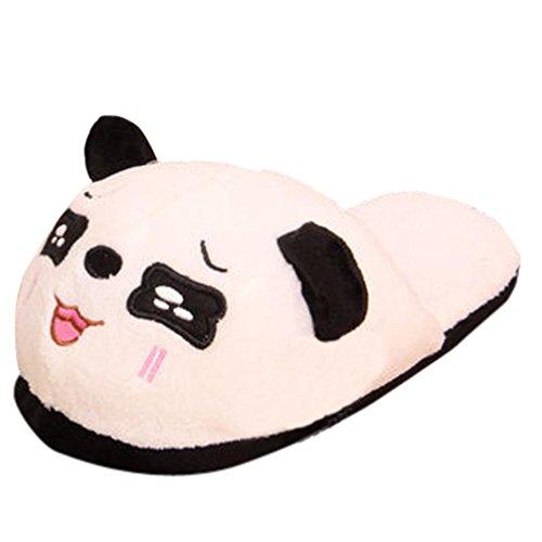 Pantofole Per Donna,Amlaiworld Panda inverno caldo ciabatte antiscivolo B