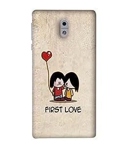 PrintVisa Designer Back Case Cover for Nokia 3 (Infatuation Attraction)