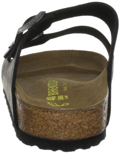 Birkenstock 552111, Sandales Adulte Mixte Noir