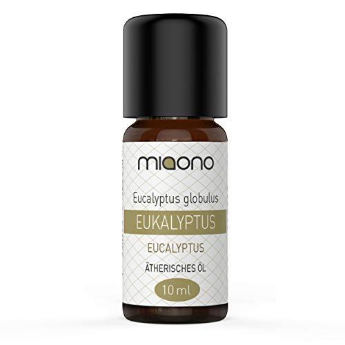 Eukalyptusöl - 100{bb523b89c17eb387f0771a715df87038a5879fb4375c3516cc25f326ddd4df22} naturreines, ätherisches Öl (10ml) von miaono (Glasflasche)