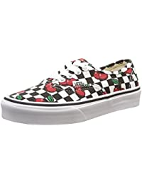 Vans K Authentic Cherry Checkers - Zapatillas bajas infantil