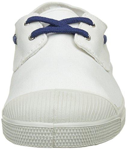 Bensimon Tennis Bateau Bicolor, Baskets Basses Homme Blanc (Blanc)