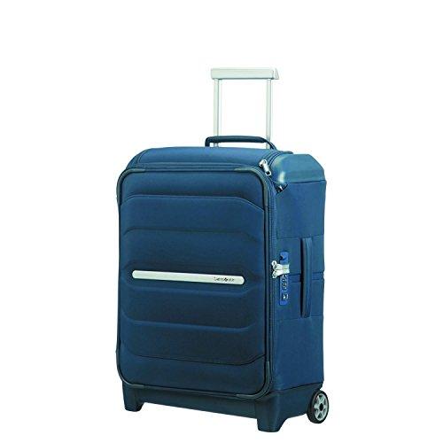 SAMSONITE Flux Soft - Upright 55/20 w/Top Pocket Bagaglio a mano, 55 cm, 39.5 liters, Blu (Navy Blue)