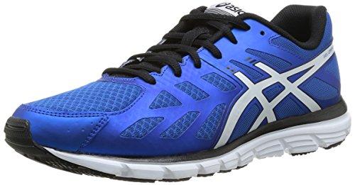 Asics Gel-Zaraca 3, Chaussures de trail homme Bleu (4201-Neon Blue/White/Navy)