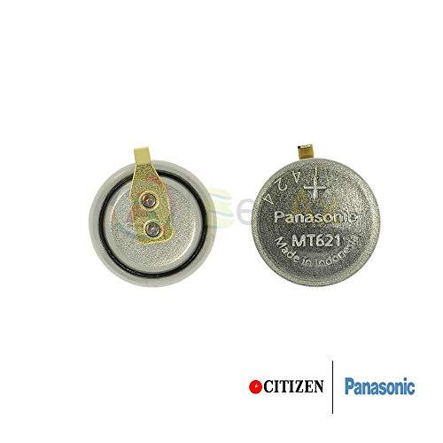 Panasonic Akku MT621 / 295-51 mit Fähnchen für Solar Uhren Casio Citizen Eco Drive