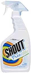 Shout Fragrance Free Trigger, 22 Ounce