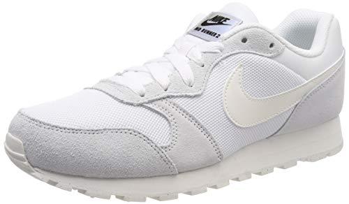 buy online cbb72 1512f Nike MD Runner 2, Baskets Femme, Blanc (White Sail 102),