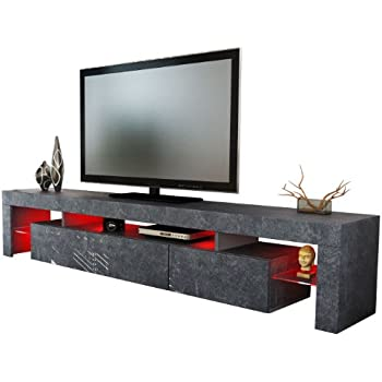 tv board lowboard lima xl rock in schieferoptik k che haushalt. Black Bedroom Furniture Sets. Home Design Ideas