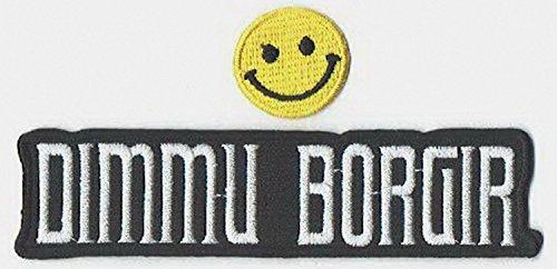 PATCH CUBE Dimmu Borgir : a Norwegian Symphonic Black Metal Music Band Applique Bestickt Eisen auf Patches by (Eisen Auf Patches Black Metal)